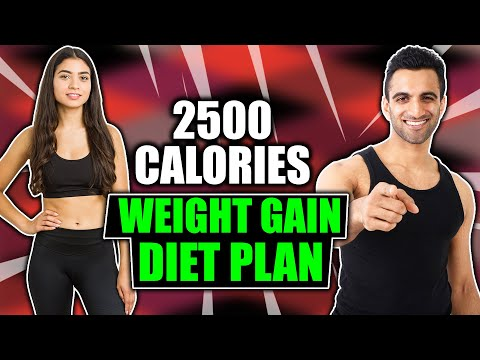 2500 calories weight gain diet plan in hindi | वजन कैसे बढ़ाये | how to gain weight fast girls & men