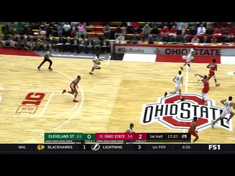 Highlights: Cleveland State at Ohio State | Big Ten Basketball