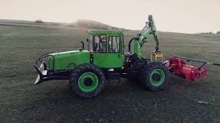 Lesný traktor EQUUS 175N Universal | Rôzne využitie