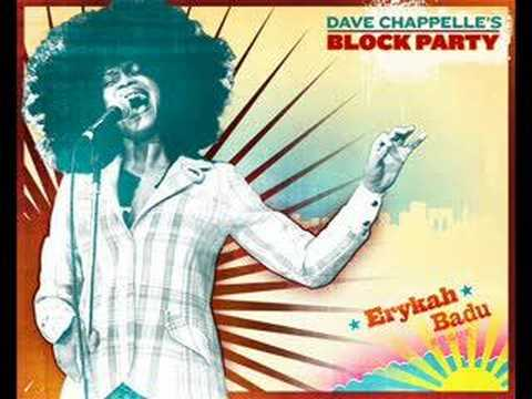Erykah Badu -  Back In The Day Live @ dave chappelle's block
