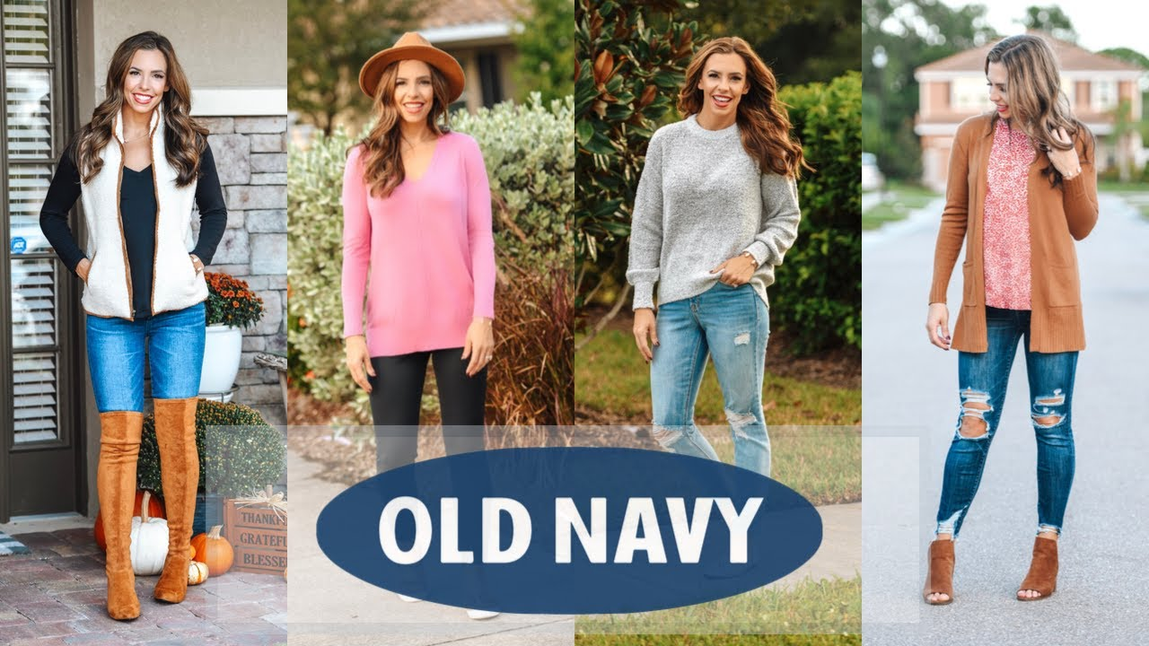 [VIDEO] - OLD NAVY FALL TRY ON HAUL 2019 | Fall Outfit Ideas 3