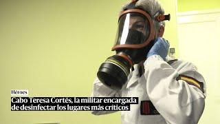 Cabo Cortés, medalla por su labor durante la pandemia: