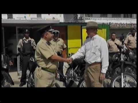 Belize Police get donation of motorcycles