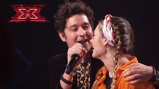 Александра Карягина – Shy & Pianoбой – Цілуй мене. Х-фактор 10. Пятый кастинг