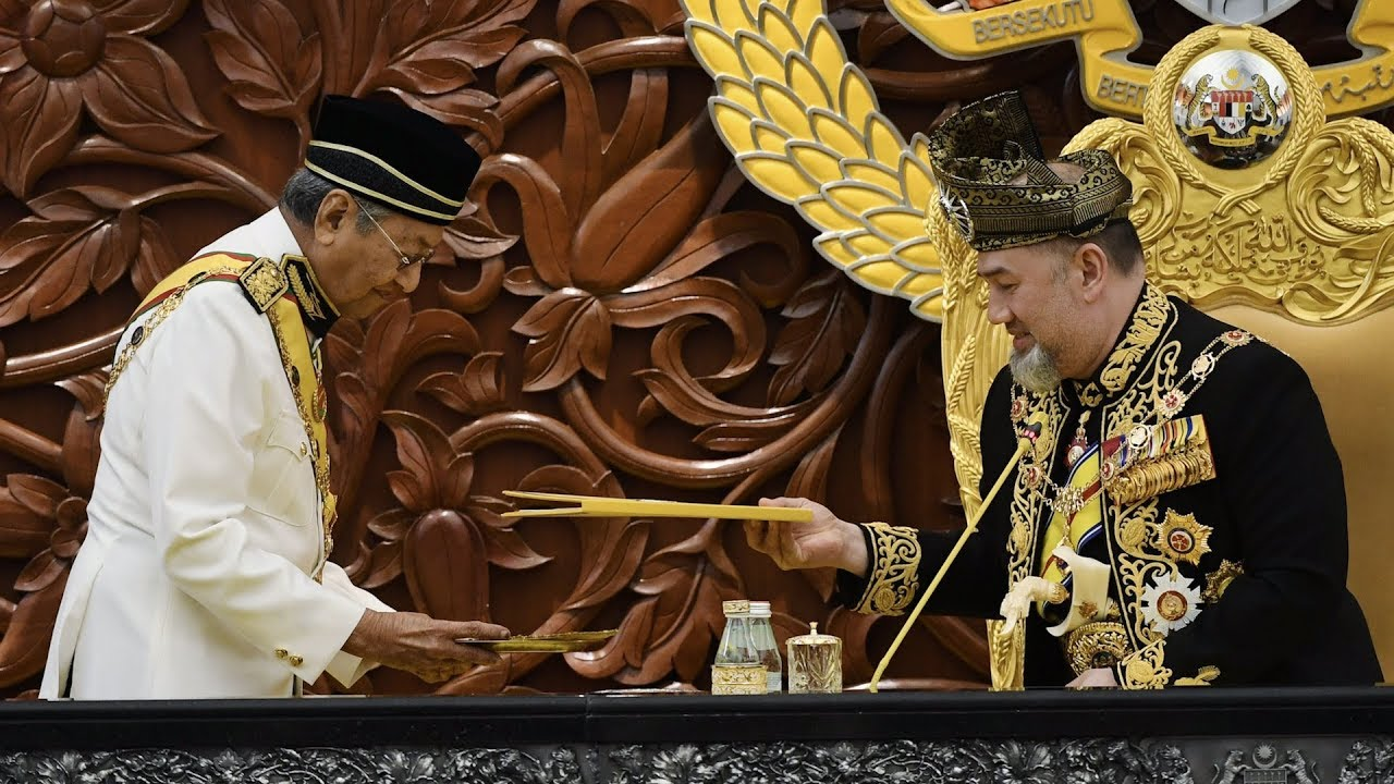 Tun M on King's royal address and SST