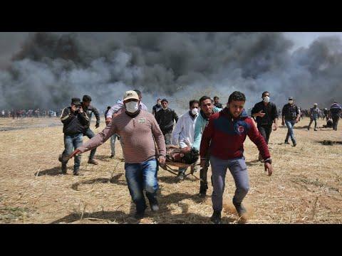 أربعة قتلى ومئات الجرحى برصاص الجيش الإسرائيلي في مسيرة -العودة الكبرى- في غزة