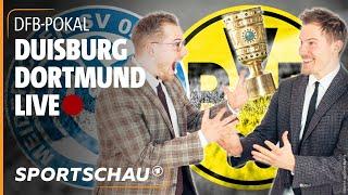 DFB-Pokal live: MSV Duisburg - Borussia Dortmund mit World Wide Wohnzimmer   Sportschau