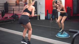 Baskin Champion & Abby Champion Model Workout - Full Cardio Circuit - hiit cardio