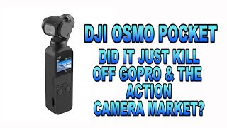 The Future of Action cameras just changed ! DJI Osmo Pocket