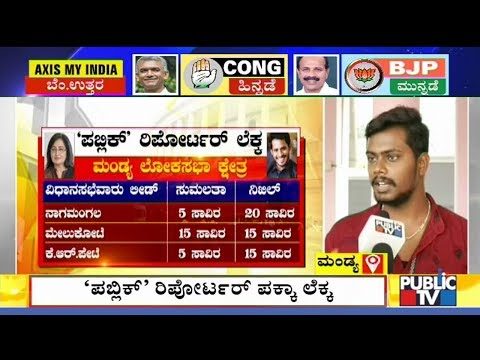 Who Will Win In Mandya..? | What Do Mandya People Say..? | Sumalatha Ambaresh | Nikhil Kumaraswamy