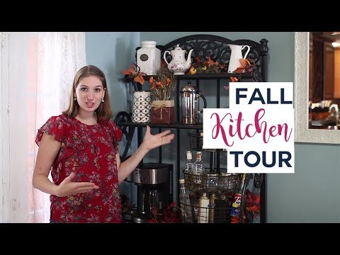 A peek inside my fall kitchen! || Collab