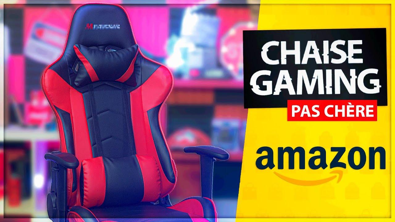 J Ai Acheté Une Chaise Gamer Pas Cher Sur Amazon Youtube