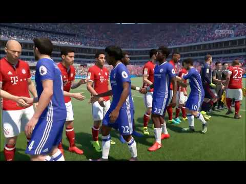 FIFA17 Sim Chelsea Vs Bayern Munich (Pre - Season Friendly) 25th/July/2017