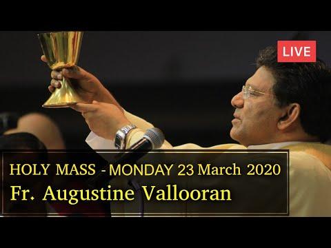 LIVE - Monday Holy Mass - Fr. Augustine Vallooran, Divine Retreat Centre, Goodness TV English