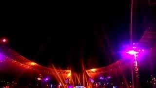 Abschluss Feuerwerk Mario Barth 2014 Olympiastadion