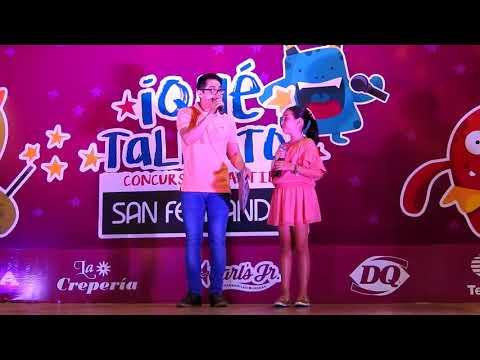 Youtuber Gibby en el concurso talentos La marina San Fernando