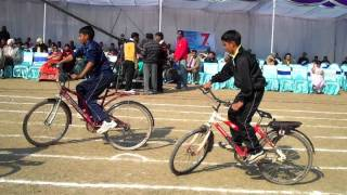 Banyan Tree School Sports Day-- Slow cycling race
