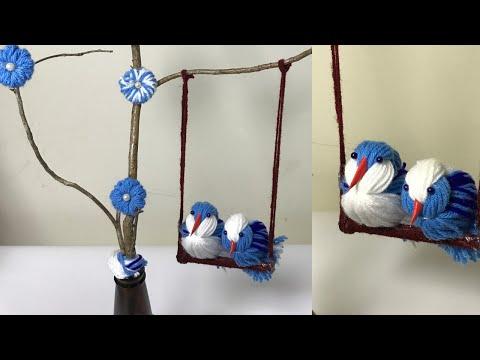 Woolen Home Decor Craft Idea