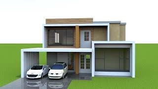 HOUSE PLAN WITH 3D WALK THROUGH || INTERIOR & EXTERIOR || 3D FLOOR PLAN