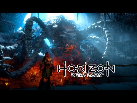 Horizon Zero Dawn - Deathbringer Boss Fight! - The Grave Hoard Quest - No Commentary