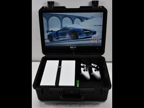 Ultimate Portable Gaming Station For XBOX & PS4.