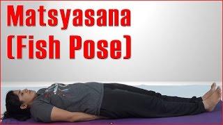 How To Do ASHTANGA YOGA MATSYASANA (FISH POSE) & Its Benefits