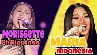 Maria & Morissette | NEVER ENOUGH. NOT A BATTLE