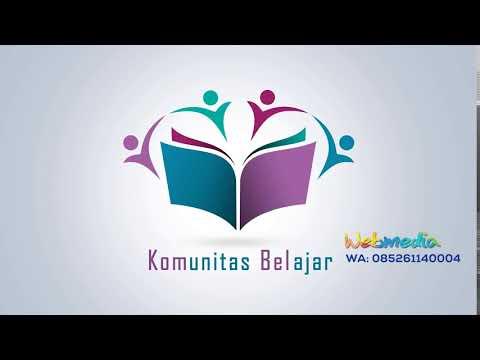 Cara Membuat Logo Perusahaan simpel dan elegan.