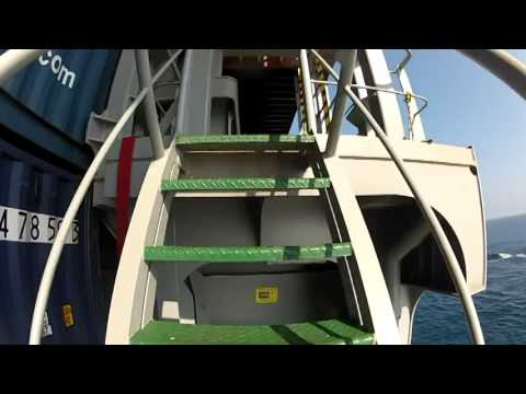 Life on Mega Container Ship