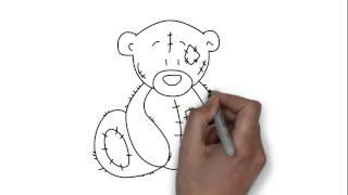 Как нарисовать мишку Тедди - простейшие рисунки(Как нарисовать мишку Тедди - простейшие рисунки., 2014-11-22T00:49:07.000Z)