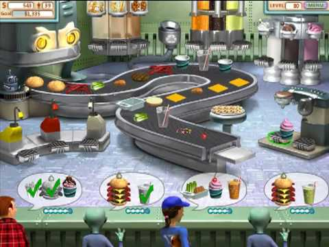 burger shop 3 game