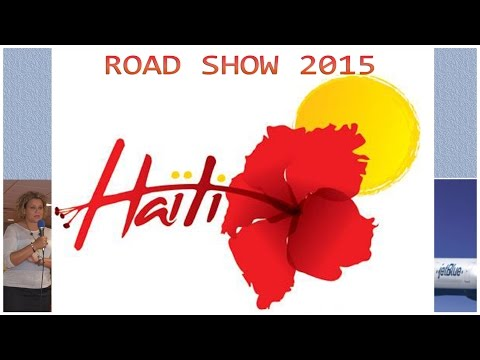 Haiti Tourism - Road Show 2015 in CT with Pascale Hilaire