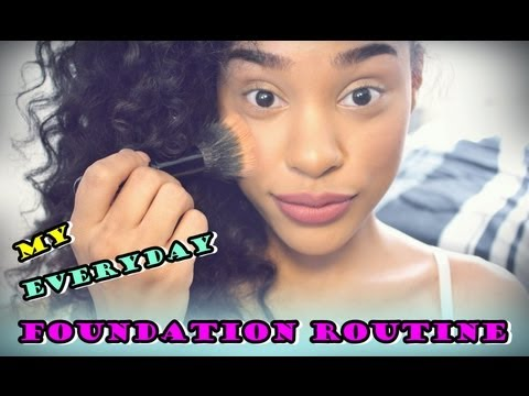 My Foundation Routine from YouTube · High Definition · Duration:  3 minutes 54 seconds  · 206,000+ views · uploaded on 6/27/2013 · uploaded by ItsMyRayeRaye