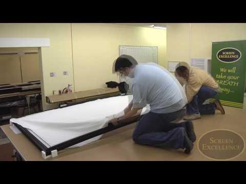 screen excellence vista screen ecran de projection courbe youtube