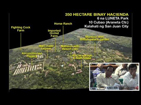 Focus shifts to 'Hacienda Binay'