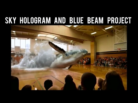Sky Hologram and blue beam project