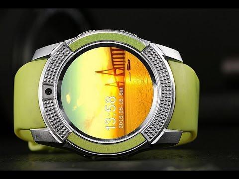 4b5f7dd6a V8 GSM Camera TF Card Slot Bluetooth Pedometer Sleep monitor Smart Watch
