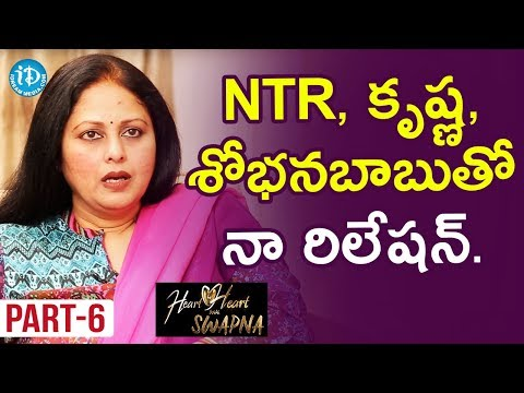 Actress Jayasudha Exclusive Interview Part #6 || Heart To Heart With Swapna