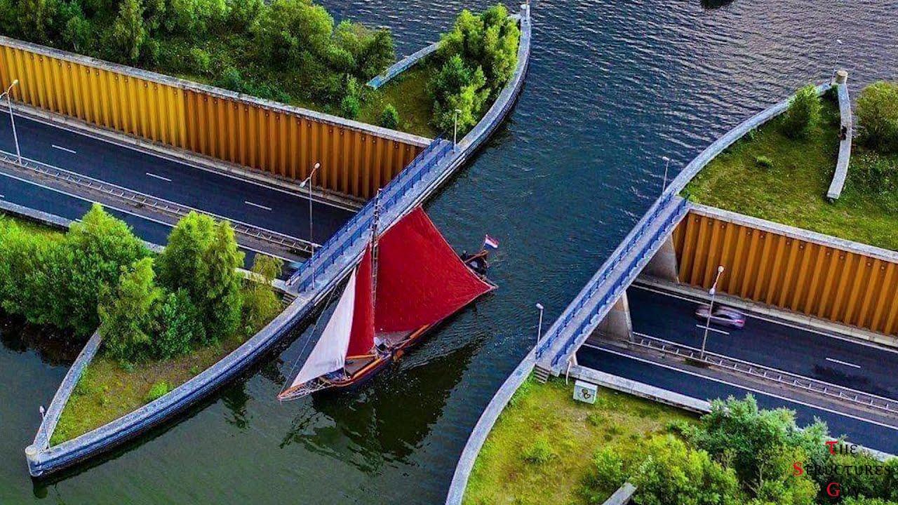 The Engineering of the Veluwemeer Aqueduct - YouTube