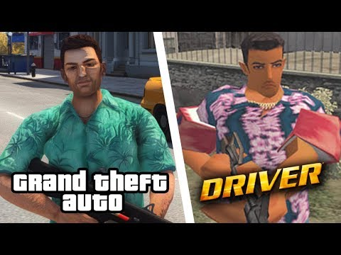 GTA vs DRIVER... Rockstar Games Got ROASTED!