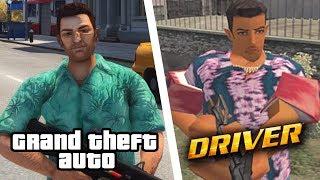GTA vs DRIVER... Rockstar Games Got ROASTED!