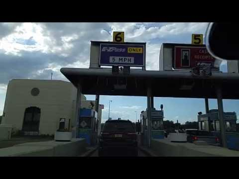 Driving from Buffalo to Niagara Falls,New York