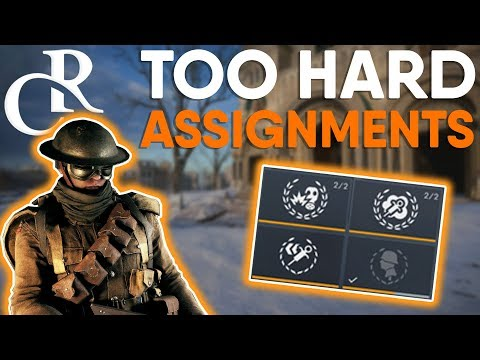 TOO HARD ASSIGNMENTS - Battlefield 1 Monday Mailbox