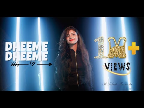 Dheeme Dheeme - Sudipa Biswas | Tony Kakkar Ft. Neha Sharma | Female Version | Tiktok Viral Song