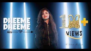 Dheeme Dheeme - Sudipa Biswas | Tony Kakkar ft. Neha Sharma | Female Version | Tiktok Viral Song