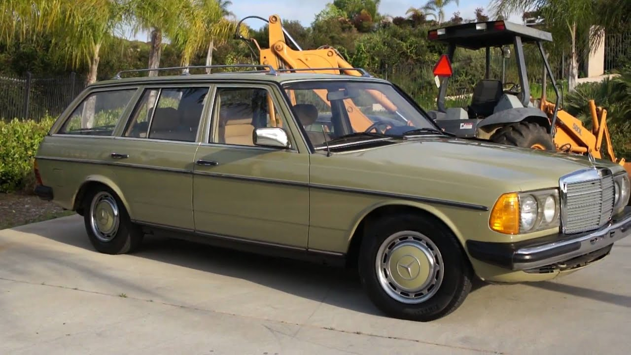 84 mercedes benz 300td euro diesel 4 speed w123 station wagon