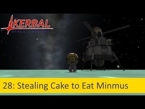 28: Stealing Cake to Eat Minmus (Ore Mining on Minmus)