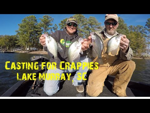 Casting For Crappies, Lake Murray, SC