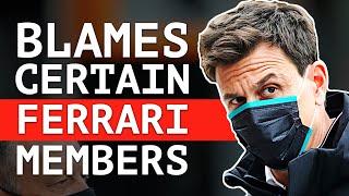 "Toto Wolff Calls Out ""Certain Members"" of Ferrari"