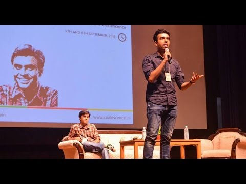 Naveen & Jeetu, TVF Pitchers at Coalescence'15 | BITS-Pilani